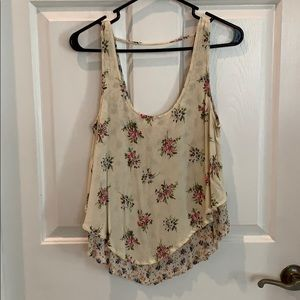Mossimo floral tank